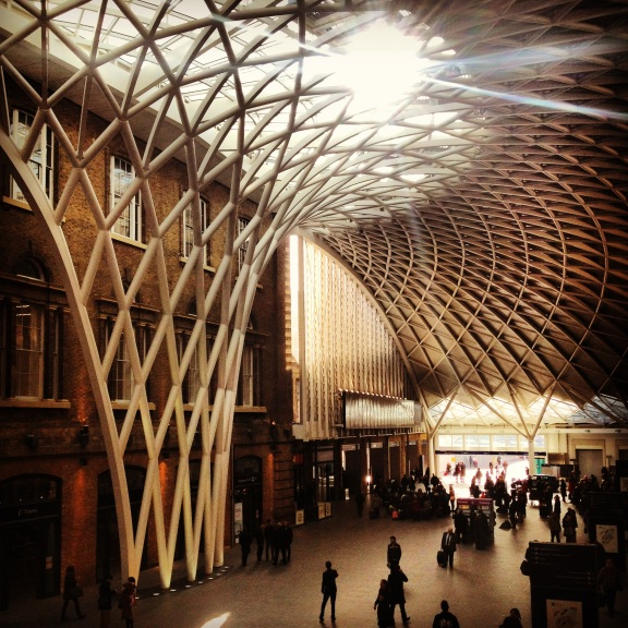 The magnificient Kings Cross Pancras Station - London